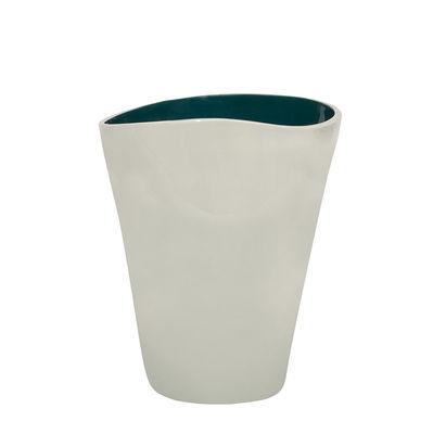 Déco - Vases - Vase Double Jeu / Large - H 29 cm - Maison Sarah Lavoine - Blanc cassé / Bleu Sarah - Céramique