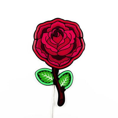 Illuminazione - Lampade da parete - Applique con presa Néon Rose - / LED - H 55 cm / Acrilico di Seletti - Rose & rouge - Acrilico