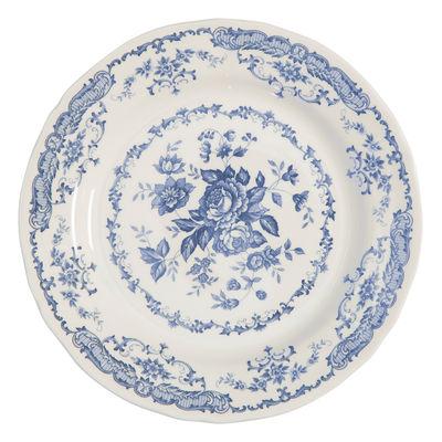 Arts de la table - Assiettes - Assiette de présentation Rose / Ronde - Ø 30,9 cm - Bitossi Home - Ronde / Bleu - Céramique Ironstone