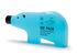 Bloc réfrigérant Blue bear / Large - L 18 cm - Pa Design