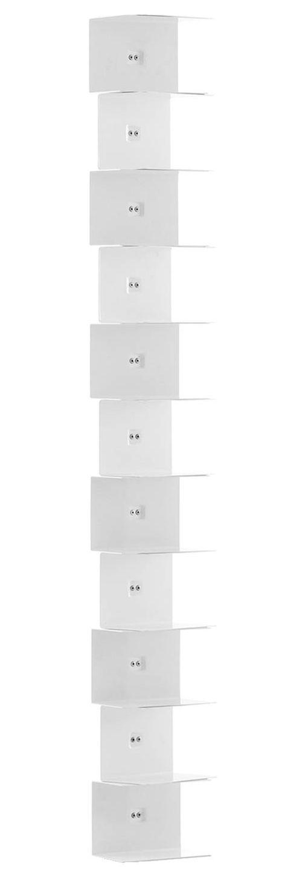 Furniture - Bookcases & Bookshelves - Ptolomeo Bookcase by Opinion Ciatti - White - Lacquered steel