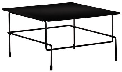 Furniture - Coffee Tables - Traffic Coffee table by Magis - Black - Acrylic stone, Varnished steel