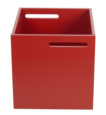 Furniture - Bookcases & Bookshelves - Crate - For Rotterdam bookshelf by POP UP HOME - Red - Painted MDF