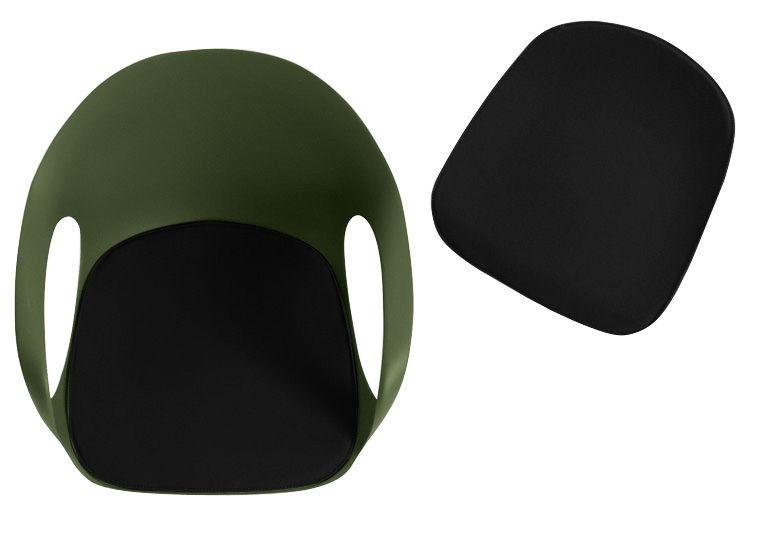 Interni - Cuscini  - Cuscino per seduta - per poltrona Elephant di Kristalia - Nero - Tessuto poliestere