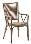 Chaise Piano Sika Design antique en fibre végétale