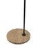 Lampada a stelo Captain Flint Outdoor - LED / H 154 cm - Orientabile - Base pietra di Flos