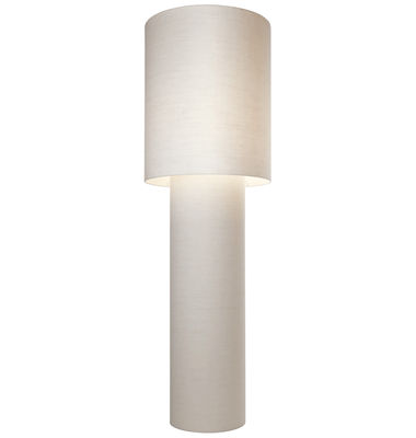 Lampadaire Pipe Grande H 183 cm - Diesel with Foscarini blanc en tissu