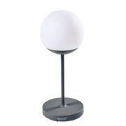 Lampe sans fil Mooon! / H 63 cm - Bluetooth - Fermob gris orage en métal
