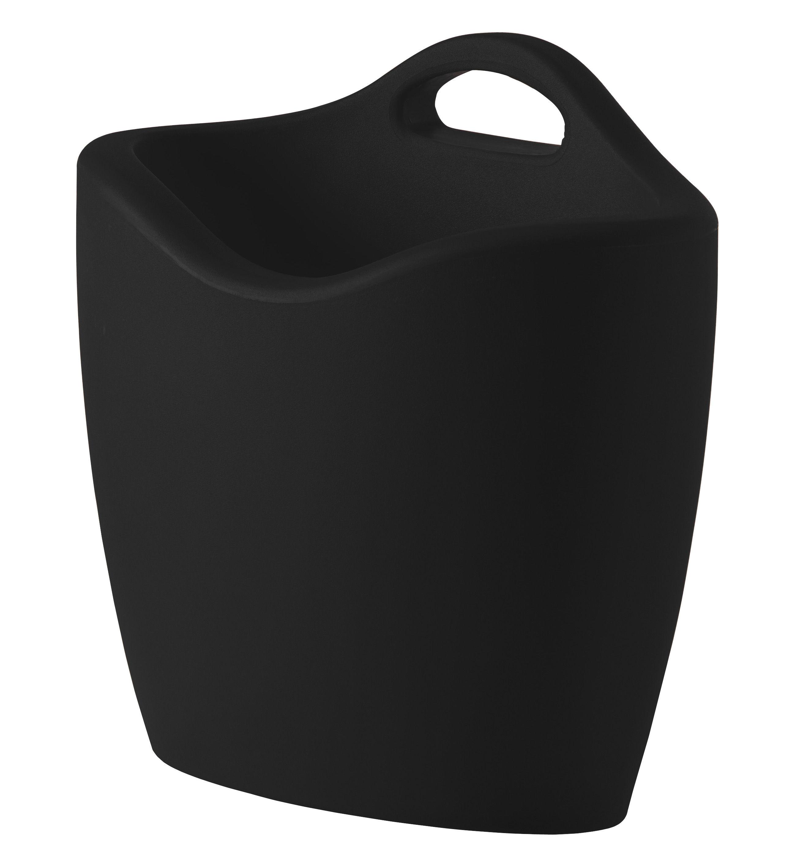 Decoration - Boxes & Baskets - Mag Magazine holder - Magazine holder by Slide - Black -