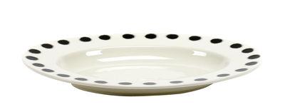 Arts de la table - Plats - Plat Pasta Pasta Medium / Pour pâtes - Porcelaine - 42 x 29 cm - Serax - Noir & blanc - Porcelaine