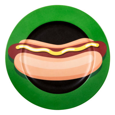 Tableware - Plates - Hot-dog Plate - / China - Ø 27 cm by Seletti - Hot dog - China