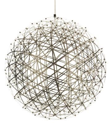 Suspension Raimond LED / Ø 89 cm - Moooi acier en métal