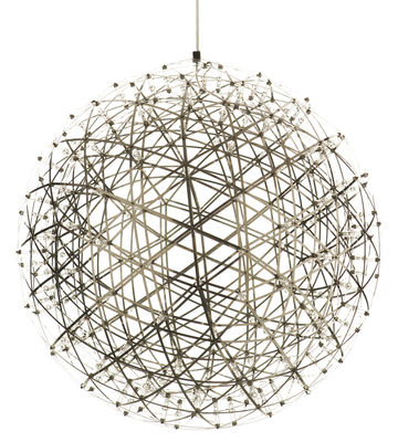 Suspension Raimond LED / Ø 89 cm - Moooi métal en métal