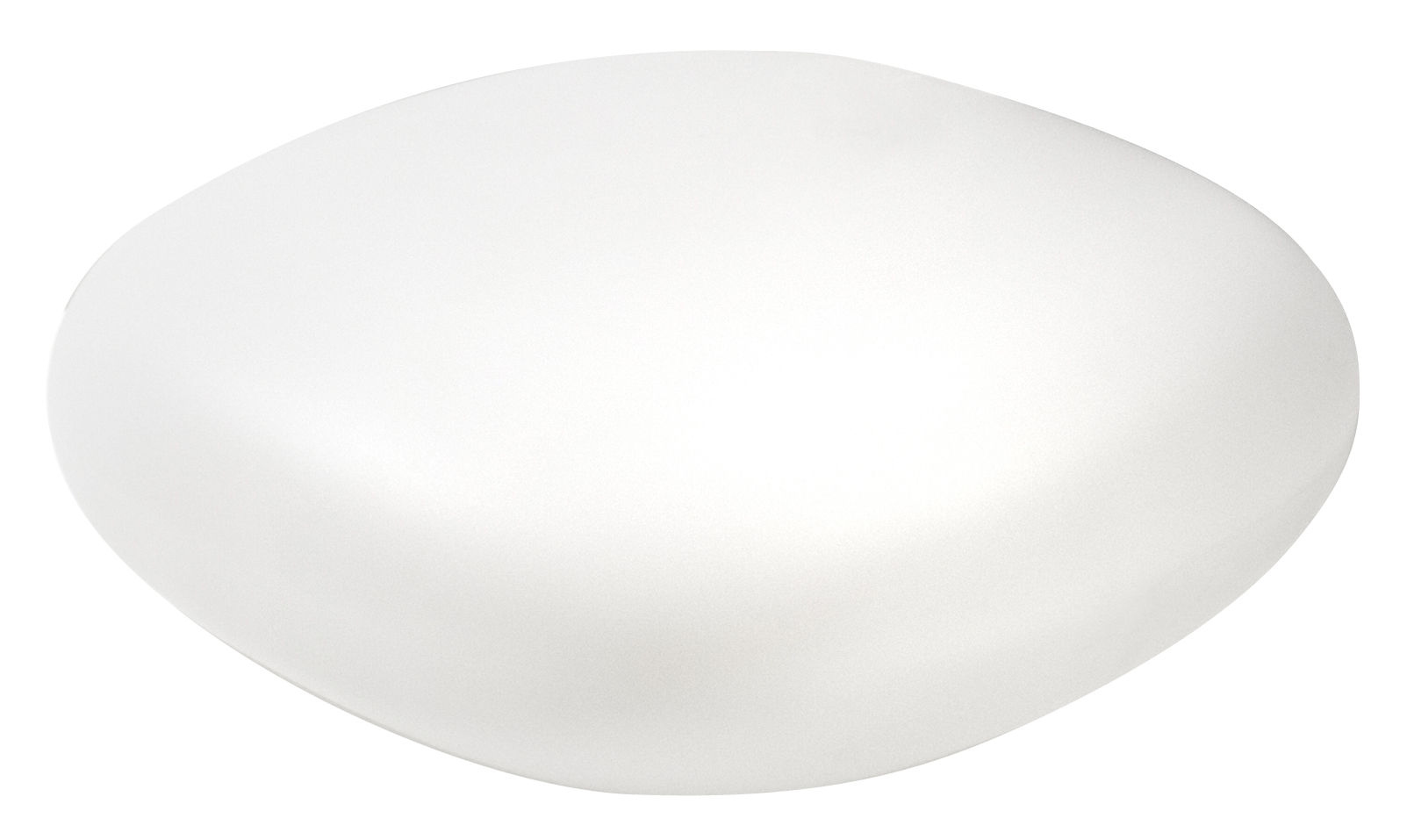 Mobilier - Tables basses - Table basse Chubby Low - Slide - Blanc - Polyéthylène