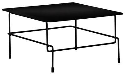 Mobilier - Tables basses - Table basse Traffic / 60 x 60 cm - Magis - Noir - Acier verni, Pierre acrylique