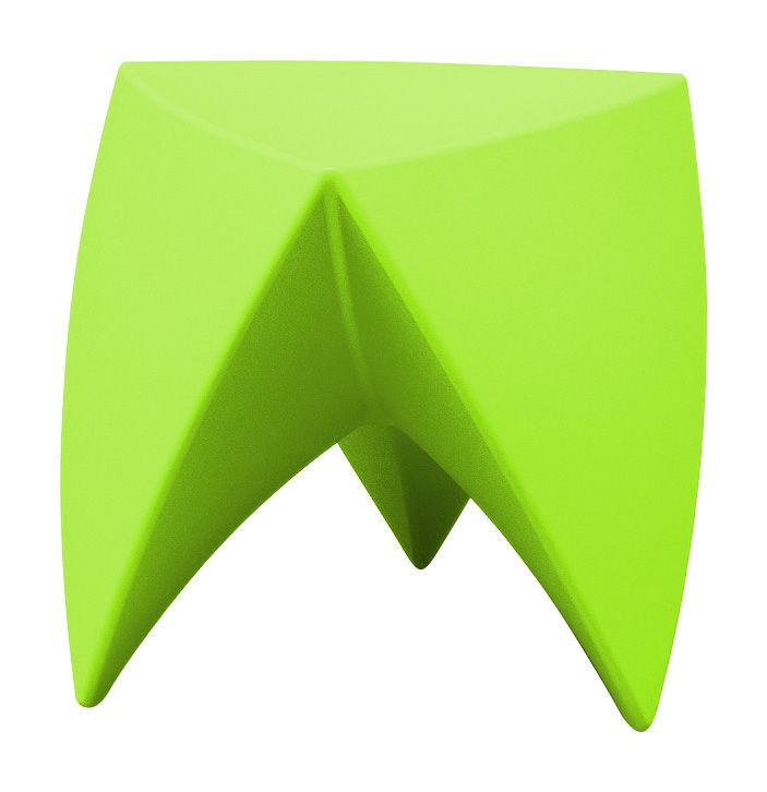 Mobilier - Tables basses - Tabouret empilable Mr. LEM / Plastique - MyYour - Vert - Polyéthylène rotomoulé