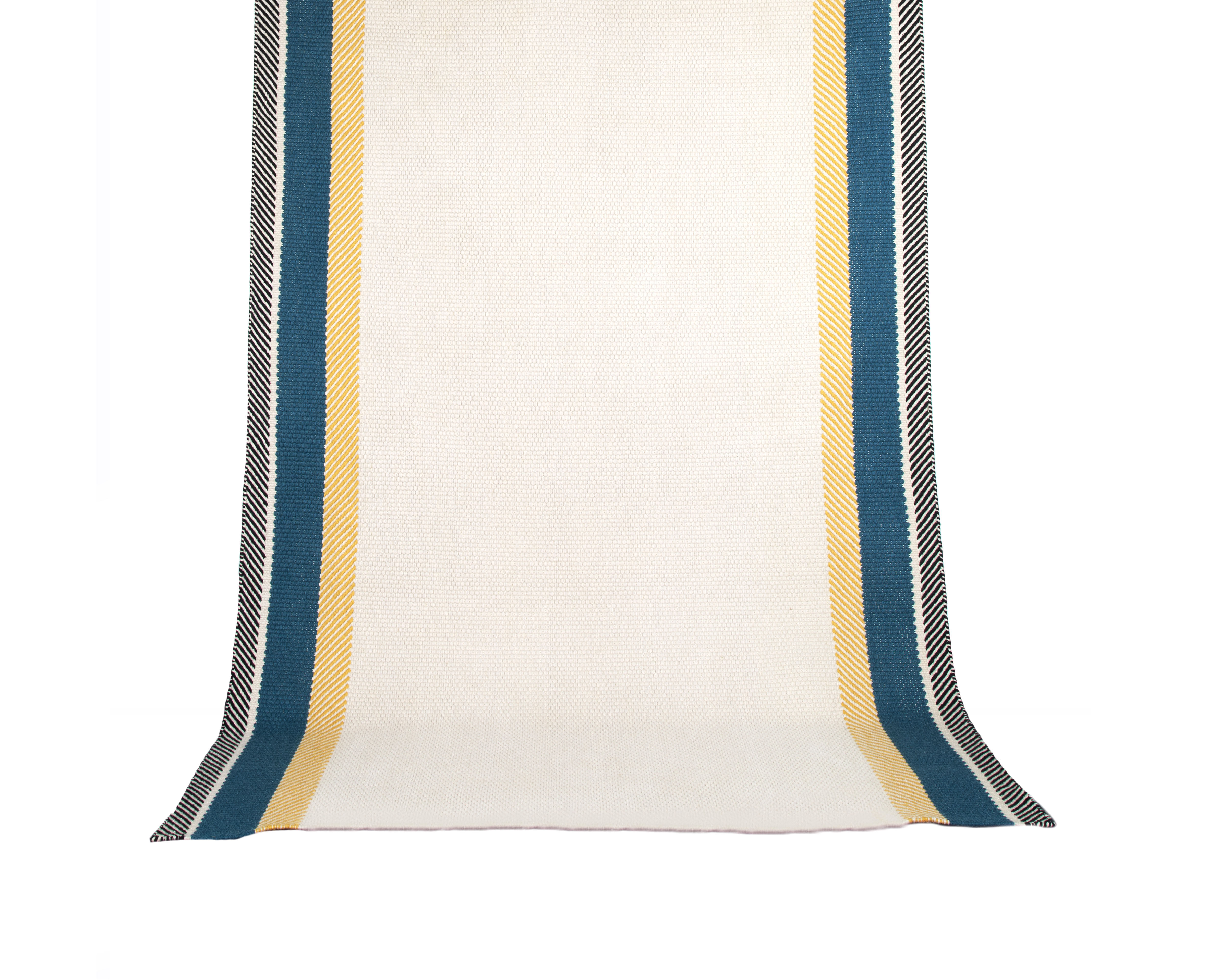 Déco - Tapis - Tapis Bande à part / 170 x 240 cm - Maison Sarah Lavoine - Bleu Sarah - Coton, Laine