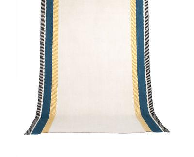 Bande à part Teppich / 170 x 240 cm - Maison Sarah Lavoine - Blue Sarah,Thé de Chine