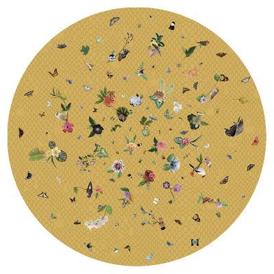 Garden of Eden Teppich / Ø 350 cm - Moooi Carpets - Gelb