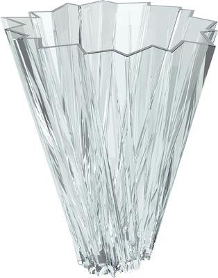 Decoration - Vases - Shanghai Vase by Kartell - Crystal - PMMA