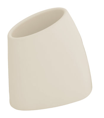 Image of Vaso per fiori Tao M - A 60 cm di MyYour - Bianco/Beige - Vetro/Materiale plastico