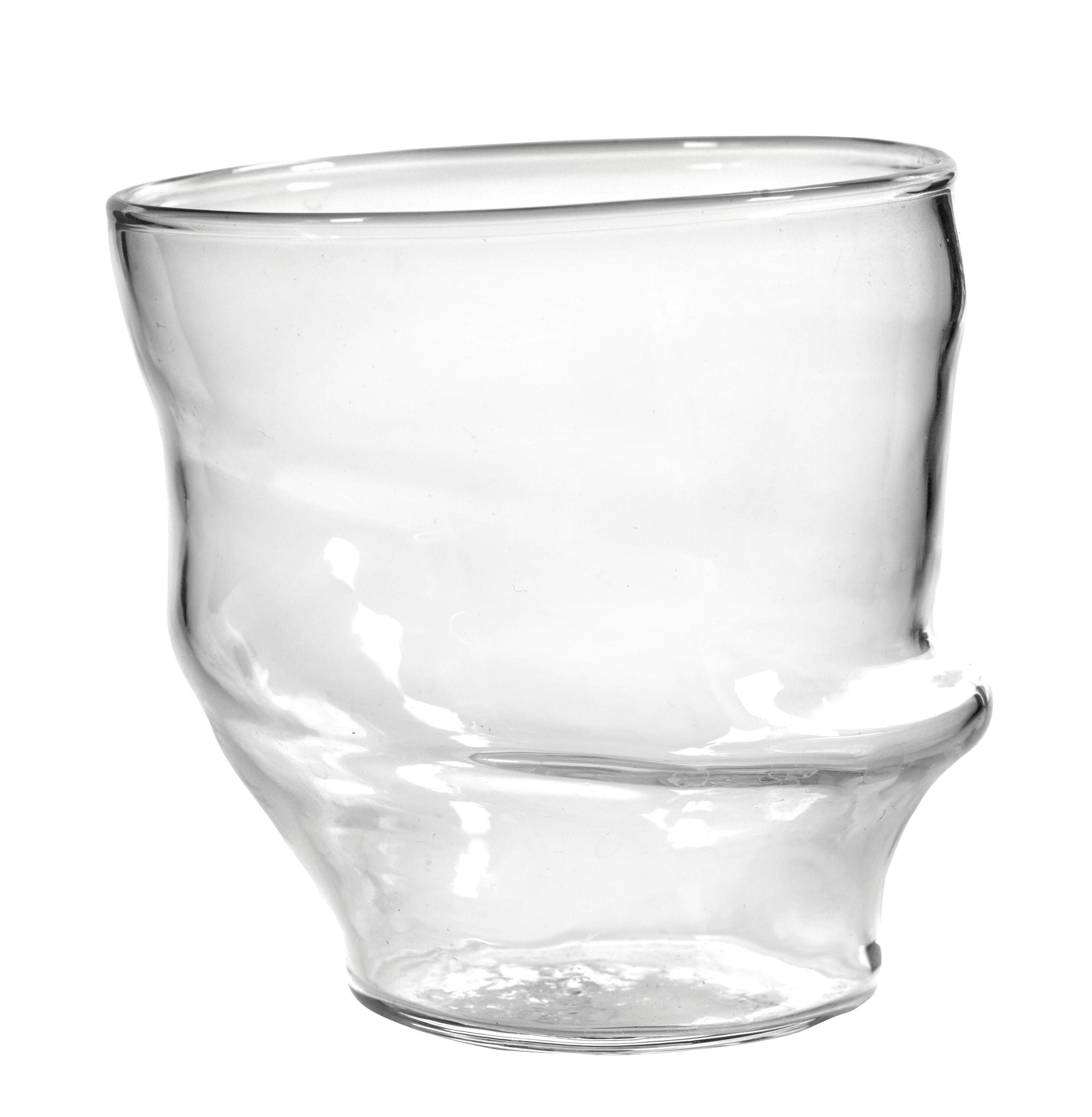 Arts de la table - Verres  - Verre Roos / Ø 8,5 cm - Serax - Transparent - Verre