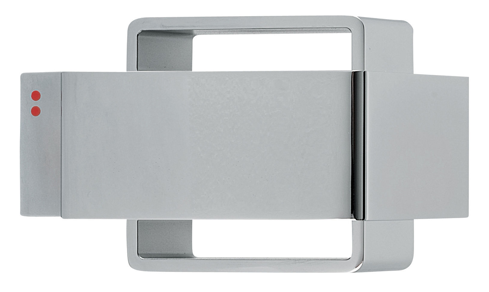 Lighting - Wall Lights - Bijou Wall light by Fabbian - chromed - Chromed metal