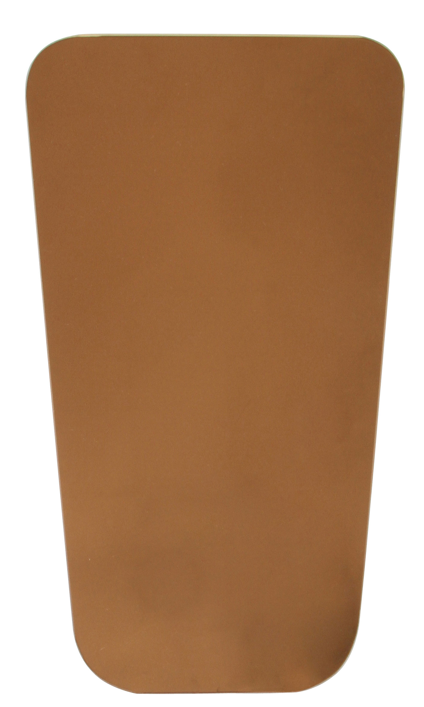 Decoration - Mirrors - Wall mirror - Rectangular - 45 x 25 cm by & klevering - Rectangular - Copper - Glass