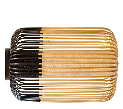 Bamboo light L Wandleuchte / Deckenleuchte - Ø 35 cm x H 50 cm - Forestier - Schwarz,Bambus Natur