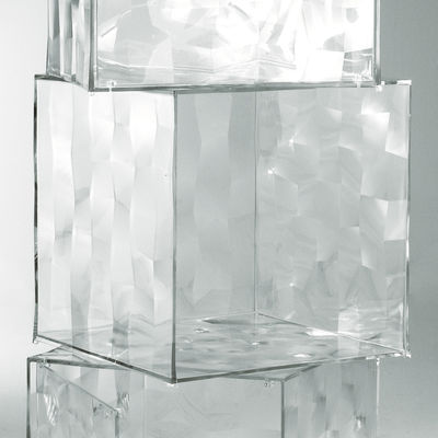 Möbel - Couchtische - Optic Ablage ohne Tür - Kartell - Kristall - PMMA
