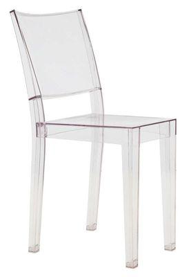 Mobilier - Chaises, fauteuils de salle à manger - Chaise empilable La Marie transparente / Polycarbonate - Kartell - Cristal - Polycarbonate