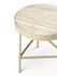 Travertine End table - / Medium - Ø 40 x H 45 cm by Ferm Living