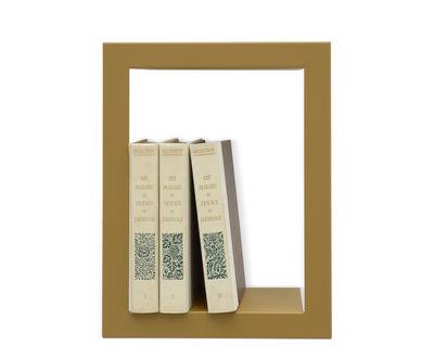Mobilier - Etagères & bibliothèques - Etagère Bighigh / Métal - L 28 x H 36 cm - Presse citron - Cumin - Acier laqué