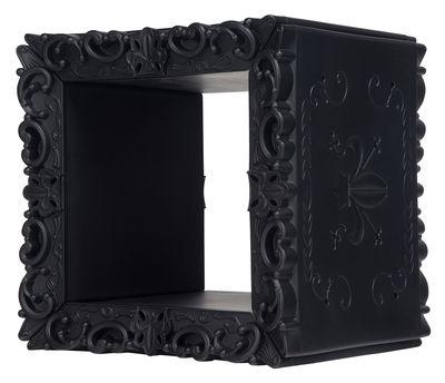 Mobilier - Etagères & bibliothèques - Etagère Jocker of Love /Cube modulaire - 52 x 46 cm - Design of Love by Slide - Noir - Polyéthylène rotomoulé