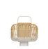 Lampada da tavolo Bamboo Square - / Small - H 41 cm di Forestier