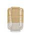 Lampada da tavolo Bamboo Square - / Large - H 65 cm di Forestier