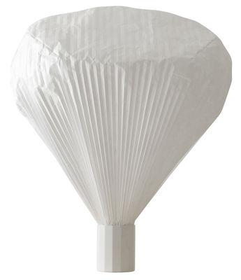 Illuminazione - Lampade da tavolo - Lampada da tavolo Vapeur - h 63 cm di Moustache - H 63 cm - Bianco - metallo laccato