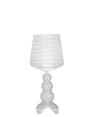 Luminaire - Lampes de table - Lampe à poser Mini Kabuki / LED - Kartell - Cristal - Technopolymère thermoplastique