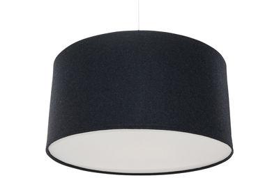 Lighting - Pendant Lighting - Kobe Large Pendant - Ø 60 cm by Innermost - Ø 60 cm - Charcoal - Acrylic felt, Cotton, Wool