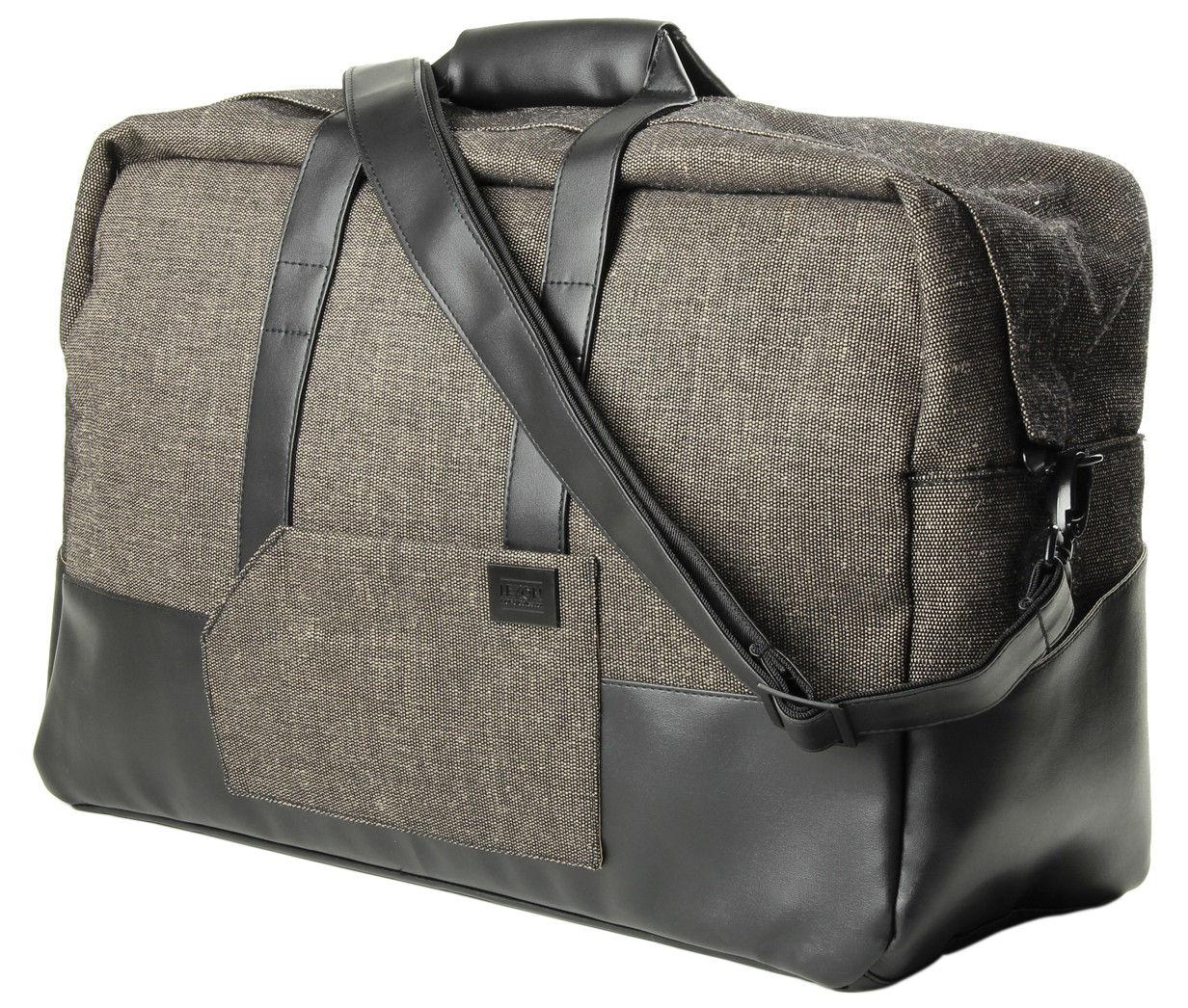 Accessoires - Sacs, trousses, porte-monnaie... - Sac de voyage - Lexon - Marron - Fibres PET recyclées