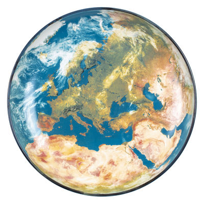 Tableware - Plates - Cosmic Diner Soup plate - / Earth Europe - Ø 32 cm by Diesel living with Seletti - Europe - China