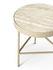 Table d'appoint Travertine / Medium - Ø 40 x H 45 cm - Ferm Living