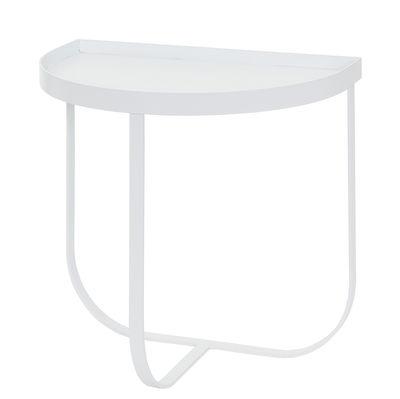 Mobilier - Tables basses - Table de chevet Harper / Table d'appoint - L 45 m - Bloomingville - Blanc - Métal laqué