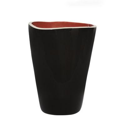 Déco - Vases - Vase Double Jeu / Large - H 29 cm - Maison Sarah Lavoine - Noir / Terracotta - Céramique