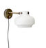 Copenhague SC16 Wall light with plug - / LED - ø 16 cm - Glass by &tradition