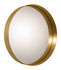 Cypris Wall mirror - / Ø 75 cm - Brass by ClassiCon