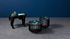 Medusa Medium Coffee table - / Ø 46 x H 33 cm - Detachable top by Ibride