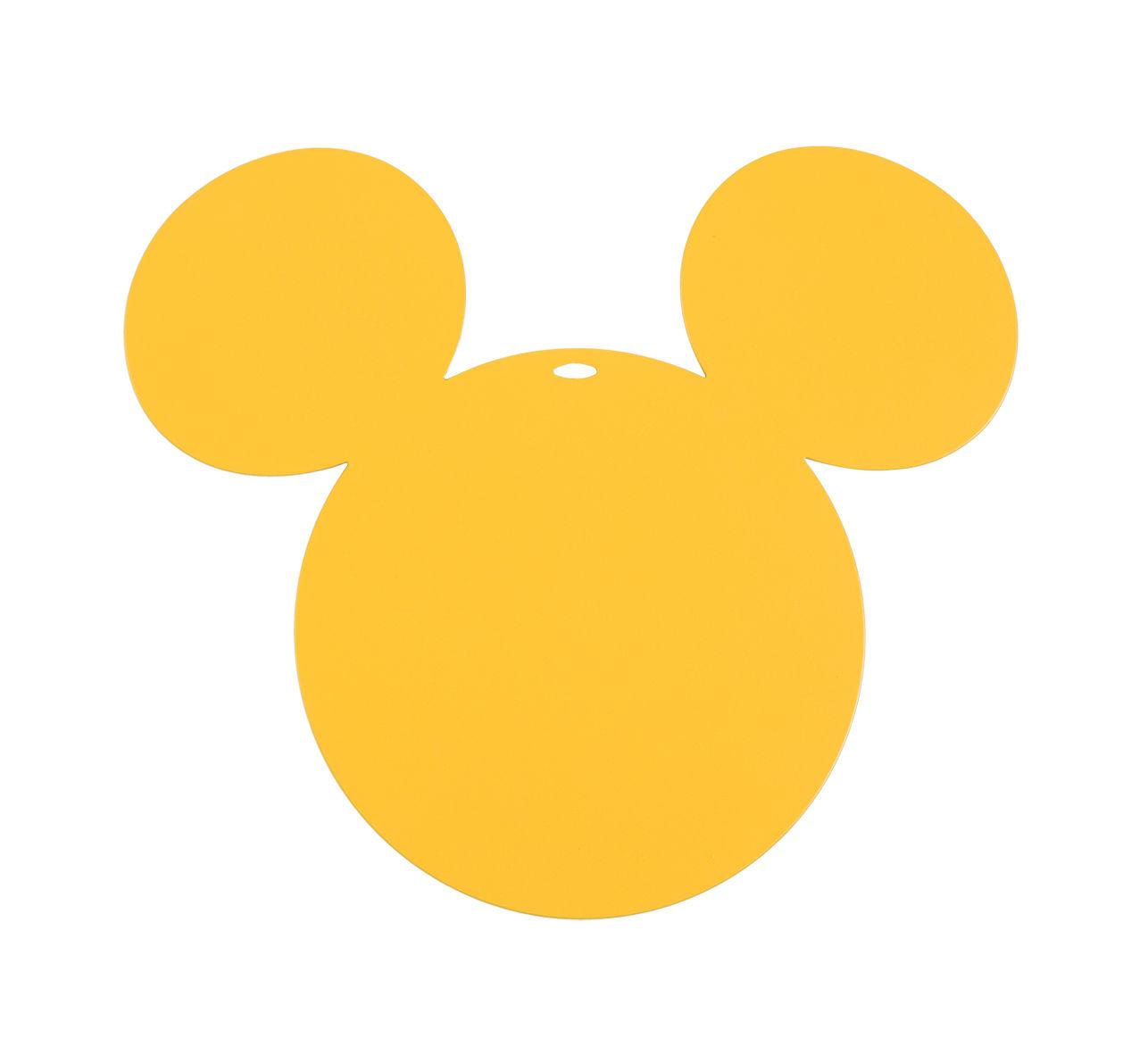 Arts de la table - Dessous de plat - Dessous de plat Mickey / Métal - Fermob - Miel - Acier électrozingué