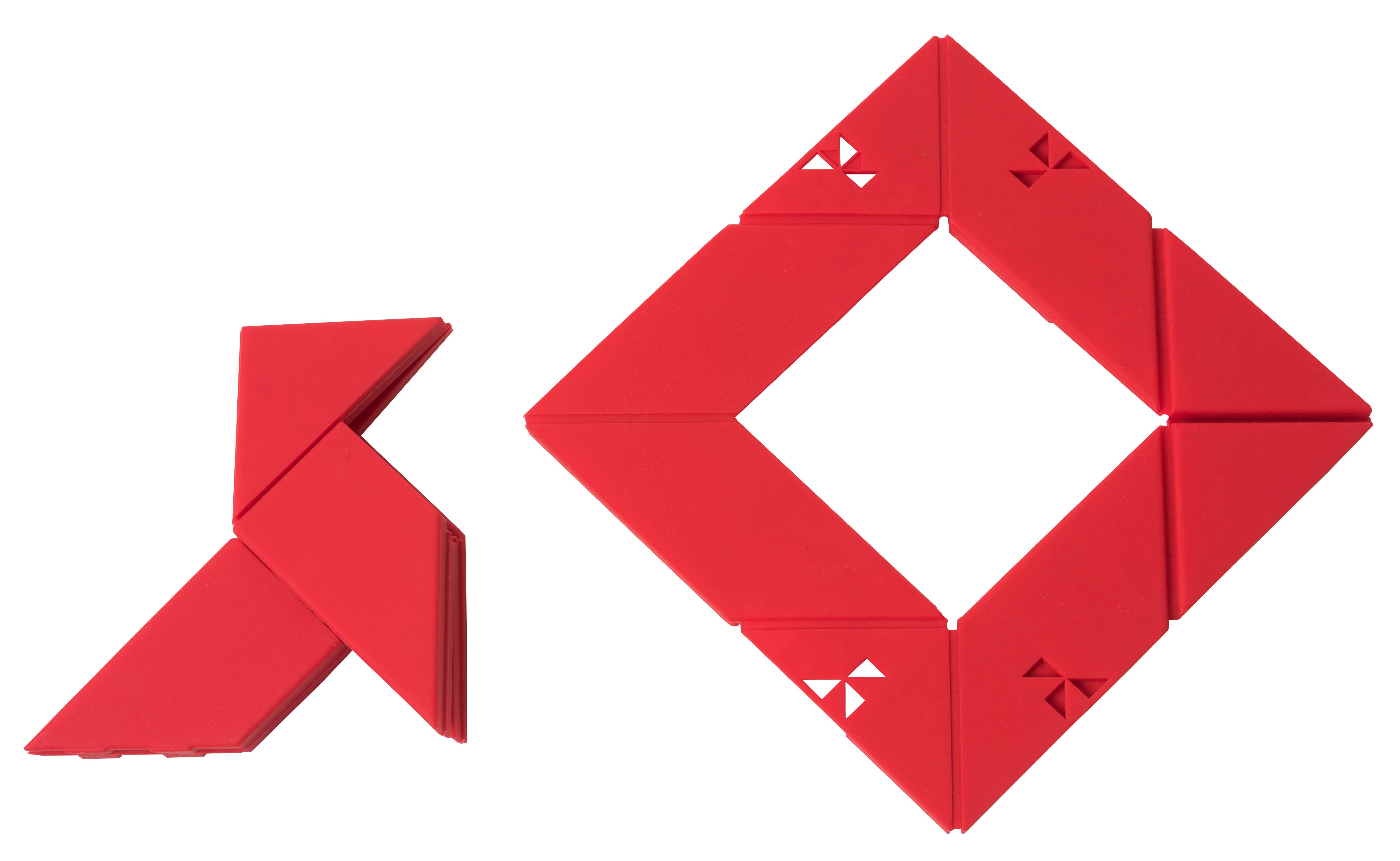 Dessous de plat Otorigami / Pliable Rouge - Pa Design | Made In Design