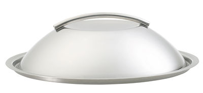 Kitchenware - Pots & Pans - Dôme Lid by Eva Trio - Steel - Stainless steel